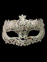 Silver Glitter Eye Mask