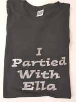 Glitter Print Personalised T-Shirt
