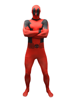 Adult Deadpool Value Morphsuit