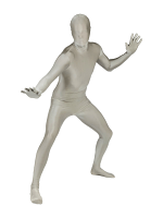 Adult Morphsuit SILVER