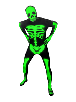 Glow-in-the-Dark Skeleton Morphsuit