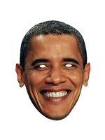 Barack Obama Face Mask.