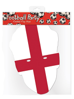 England Flag Mask Football Sporting Event