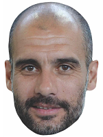 Pep Guardiola SINGLE MASK
