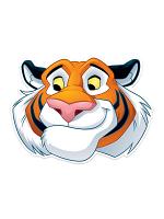Rajah Tiger Fun Face Mask