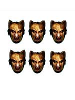 Werewolf Six Pack Face Mask