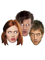 Doctor Who & Companions - Face Mask Three Pack (Dr Who