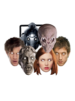 Doctor Who - Party Six Pack Face Masks