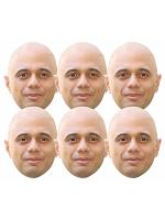 Sajid Javid Politician 6 Pack Includes Tabs and Elastic