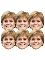 Nicola Sturgeon Politician 6 Pack Includes Tabs and Elastic