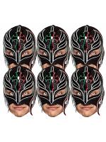 Rey Mysterio WWE Masks 6 Pack of Wrestling Masks