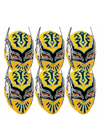 Sin Cara WWE Masks 6 Pack of Wrestling Masks