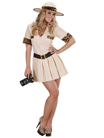 Safari Girl (Dress Belt Hat)