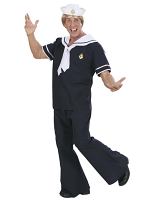 Sailor (Coat Pants Tie Hat)