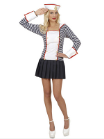Sailor Dreamgirlz Costume (Dress With Collar Hat)