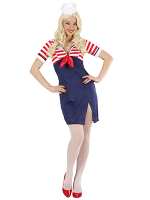 Sailor Girl (Dress Mini Hat)