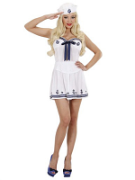 Sailor Girl White (Corset Skirt Hat)