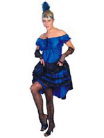 Saloon Girl Costume (12345)