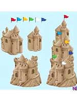 Sandcastle Cutout Decoration