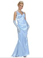 Satin Celebrity Blue (Dress Gloves)