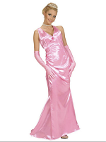 Satin Celebrity Pink (Dress Gloves)