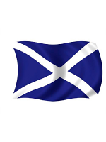 Scotland/St Andrews Flag 5ft x 3ft With Eyelets For Hanging