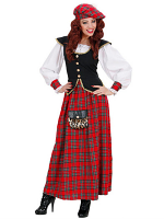 Scottish Lass Heavy Fab Costume