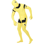 Second Skin Suit, Crash Dummy Costume Yellow