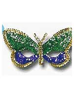 Sequin Butterfly Mask