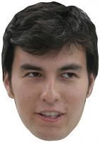 Sergio Perez Mask