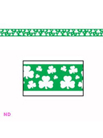 Shamrock Party Tape - 20ft (6m)
