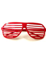 Shutter Shades - Red