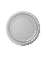 """Silver 9"""" Paper Plates  (PK 8)"""