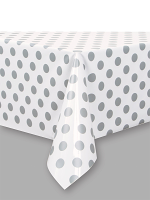 Silver Dot Table cover
