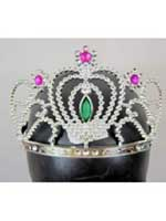 Silver Jewelled Tiara