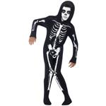 Skeleton Costume Black