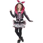 Skelly Rabbit Costume Black