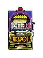 Slot Machine Cutout (1 In A Pack)