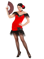 Spanish Beauty Red Costume