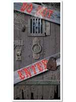 """Spooky Halloween Door Cover 30"""" x 5'"""