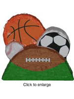 Sports Ball Group Decoration