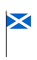 St Andrew's Hand Held Flag
