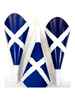 St Andrew's Scotland Flag Party Trumpets - 12