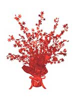 Star Gleam 'N' Burst Centrepiece Red (Quantity 1)