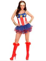 Super Hero Girl Costume