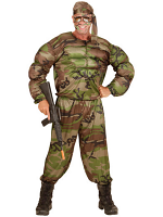 Super Soldier (Muscle Shirt Pants Headband)