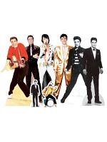 Elvis Presley Small Cardboard Cutouts