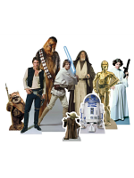TT012 Star Wars (Heroes) Table Tops - 9 Cut outs