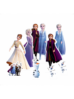 Frozen Table Tops aka Table Toppers featuring Anna, Elsa, Olaf