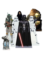 TT020 Star Wars (Villains) Table Tops - 7 Cut Outs